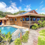 Kai Malolo – view of property and pool