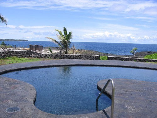 Hale Kai Nalu – pool with oceanviews