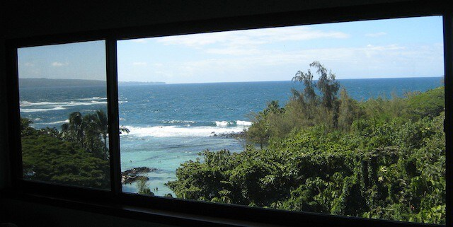 Honu Penthouse – ocean view from window