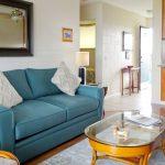 Sea Turtle Hilo Condo – Living room