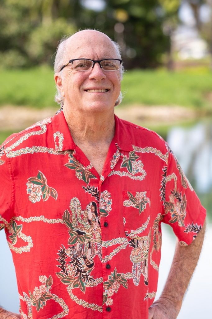 Terry Schoneberg, Realtor Emeritus® and Principal Broker of Sunrise Properties in Hilo, Hawaii